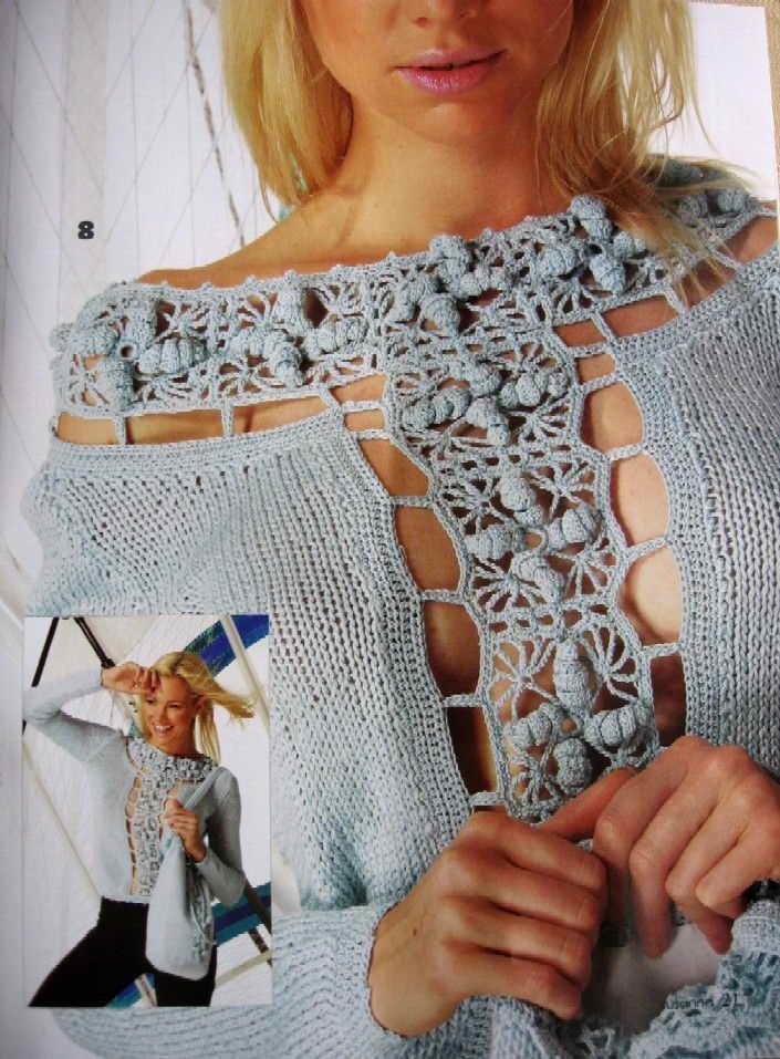 Красивое вязание блогах